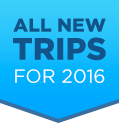 All New Trips for 2016