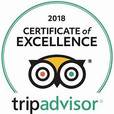Trip Advisor Certificate of Excellent 2018
